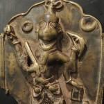 Placca tribale raffigurante Virabhadra