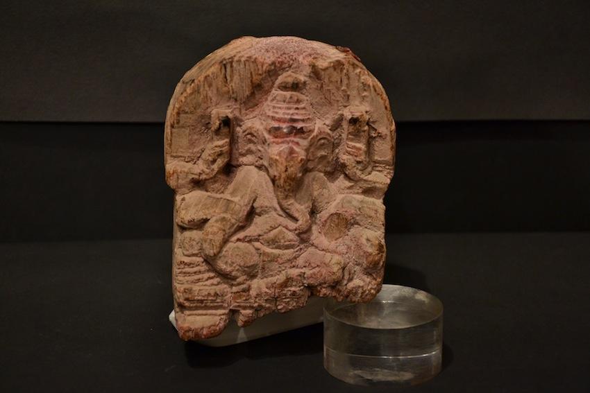 Raffigurazione di ganesh in legno arte orientale for Antiquariato bologna