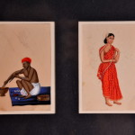 Miniature indiane su mica