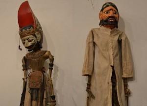 Coppia di marionette giavanesi