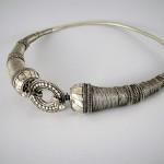 Collana rigida in argento
