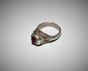 Antico anello yemenita in argento