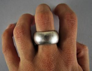 Antico anello matrimoniale a fascia - Etiopia