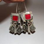 Antichi orecchini berberi niellati