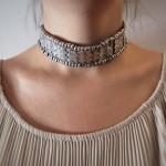 Collana girocollo in argento - India