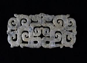 Antico intaglio in giada cinese