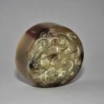 Antico intaglio cinese in corno di bue