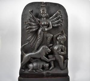 Antica scultura raffigurante Durga - Nepal