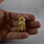 "Antico pendente "" Thali "" in oro - India - Tamil Nadu"