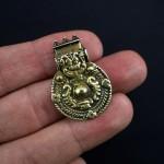 Antico pendente in oro - Kerala - India