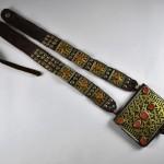Antica collana porta amuleti - Turkmenistan