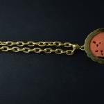 Collana in oro 750 e corallo cinese