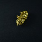 Antico pendente in oro - Uzbekistan