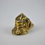 Grande pendente matrimoniale in oro - Thali - India