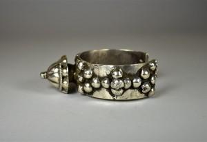 Antico bracciale in argento - Rajasthan