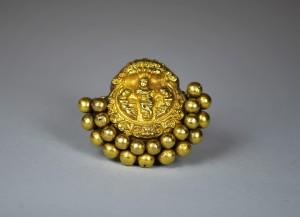 Antico pendente in oro - Tamil Nadu