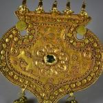 Antico pendente in oro - India