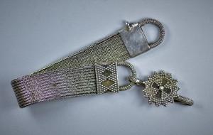 Antica cavigliera in argento